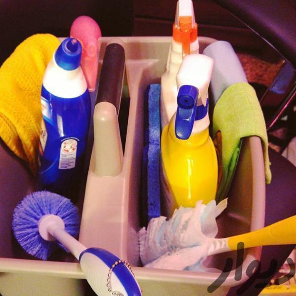 نظافتچی ایرانی و بیمه شده شرکت معتبر نظافت منازل