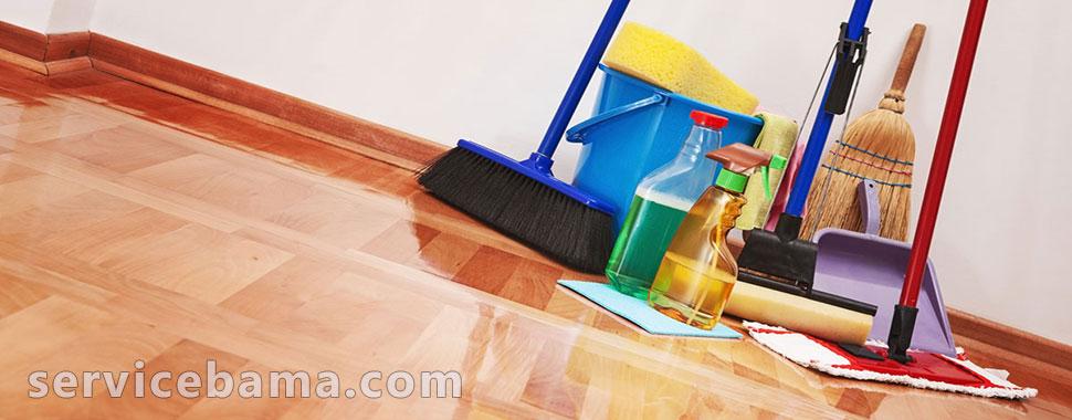 نظافت منزل و نظافت ساختمان توسط نیروهای با تجربه (سرویس با ما)