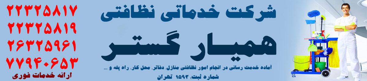 شرکت خدماتی و نظافتی همیار گستر تهران