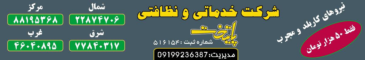 شرکت خدماتی و نظافتی پایتخت تهران
