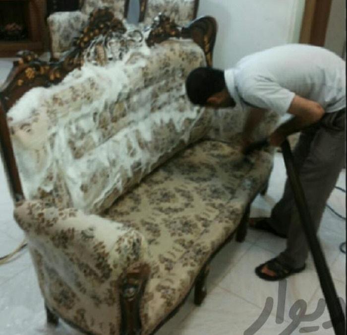 شرکت خدماتی و مبل شویی پدیده مشهد